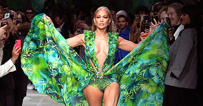 'Hustlers' Star Jennifer Lopez Models Iconic Grammys 2000 Dress as She Closes Versace Fashion Show in Milan