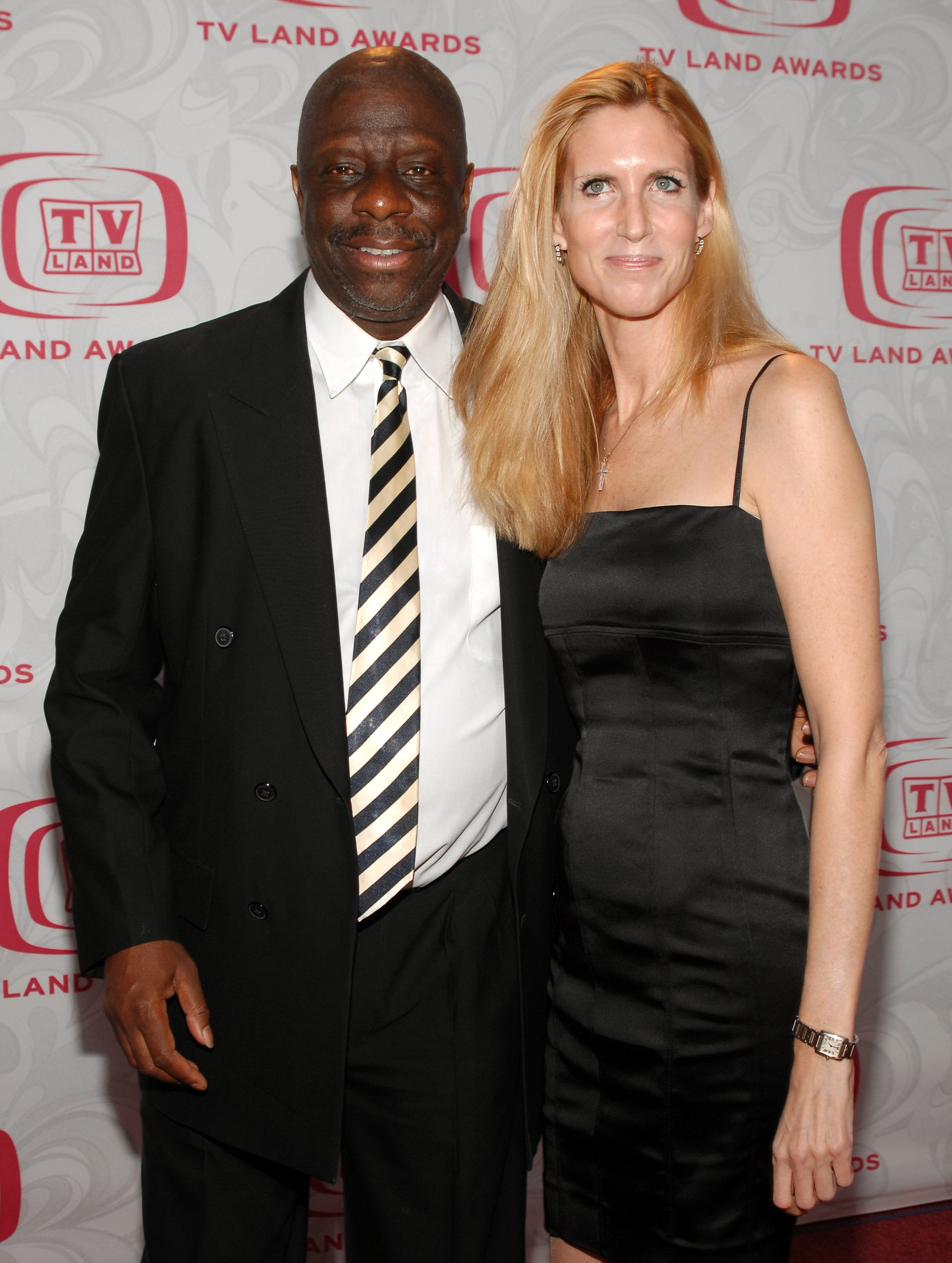 Jimmie Walker and Ann Coulter during the 5th Annual TV Land Awards at Barker Hanger on April 22, 2007 in Santa Monica, California | Photo: Getty Images