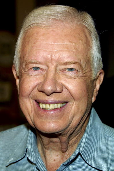 Jimmy Carter at Vromans Bookstore on December 09, 2003 in Pasadena, California | Photo: Getty Images