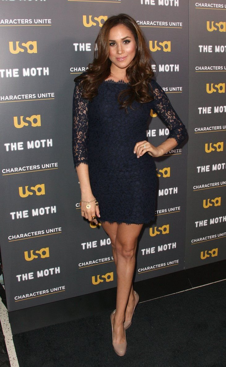 """Meghan Markle during the USA Network's and The Moth's Storytelling Tour """"A More Perfect Union: Stories of Prejudice and Power"""" at the Pacific Design Center on February 15, 2012 in West Hollywood, California.   Source: Getty Images"""