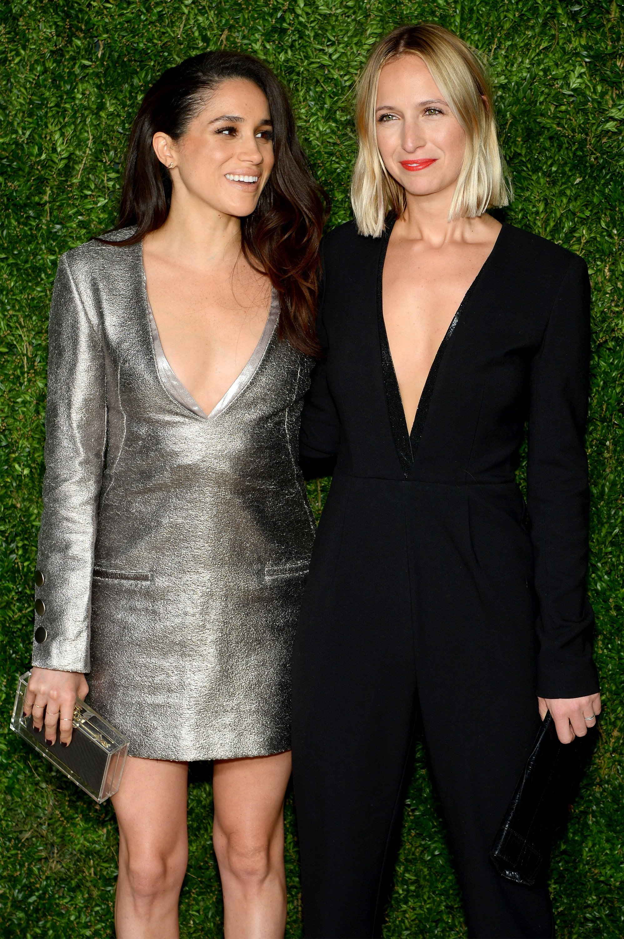 Meghan Markle and Misha Nonoo at the 12th annual CFDA/Vogue Fashion Fund Awards at Spring Studios in New York City | Photo: Getty Images