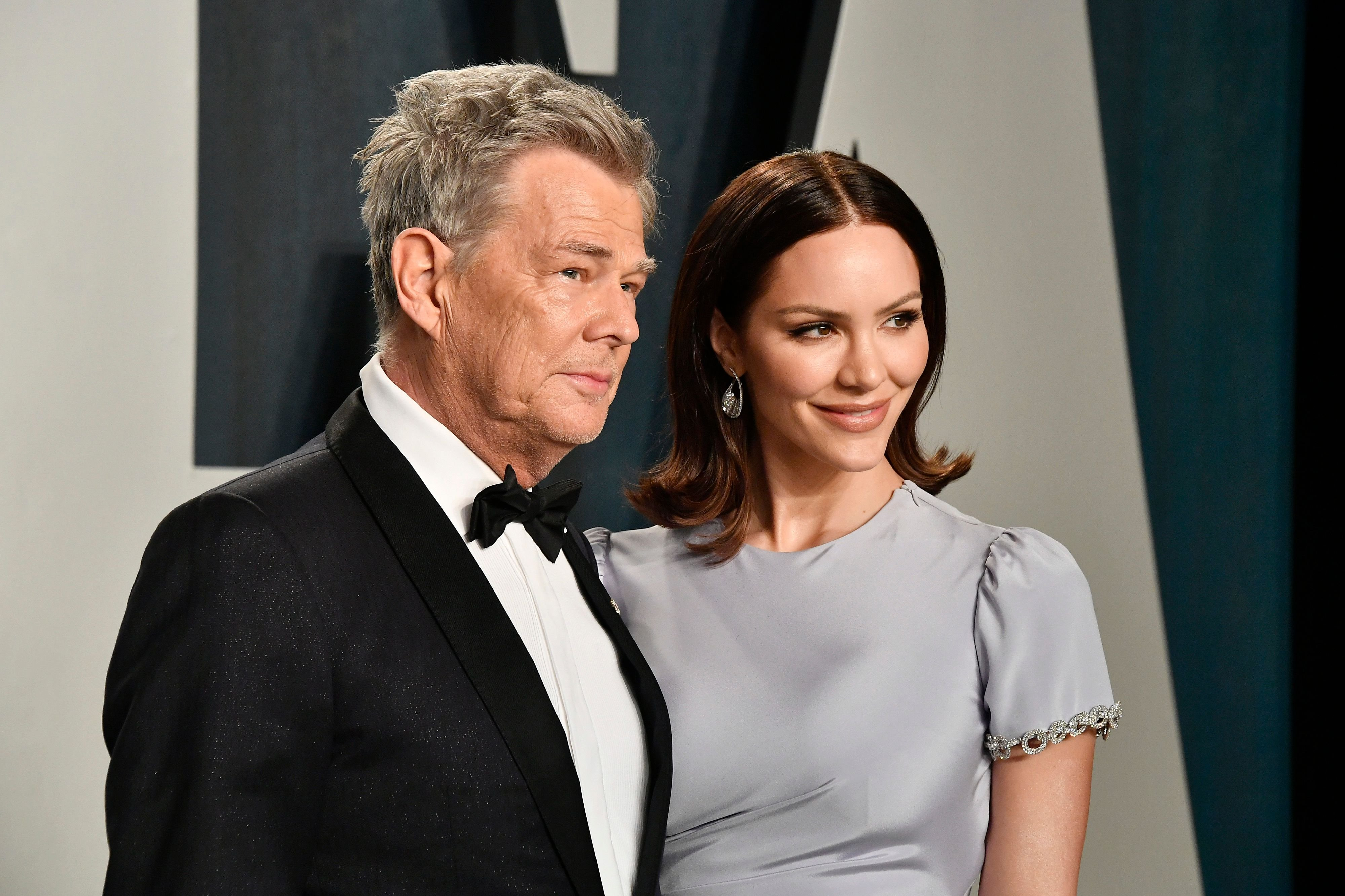 David Foster and Katharine McPhee at the 2020 Vanity Fair Oscar Party hosted by Radhika Jones at Wallis Annenberg Center for the Performing Arts on February 09, 2020   Photo: Getty Images