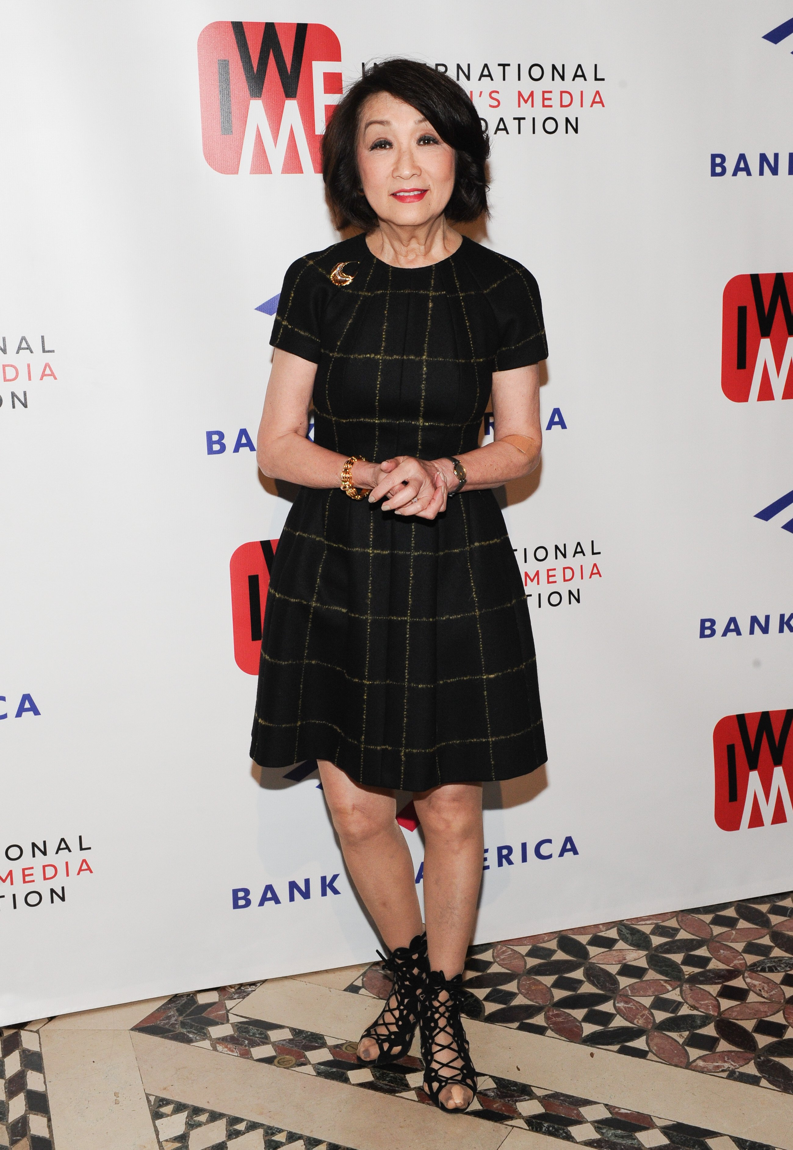 Connie Chung at The International Women's Media Foundation's 2019 Courage in Journalism Awards | Photo: Getty Images