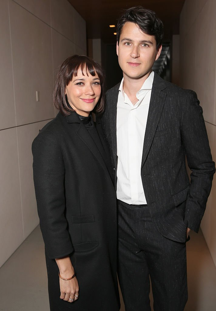 Actor Rashida Jones and musician Ezra Koenig attend UCLA IOES celebration of the Champions of our Planet's Future | Getty Images