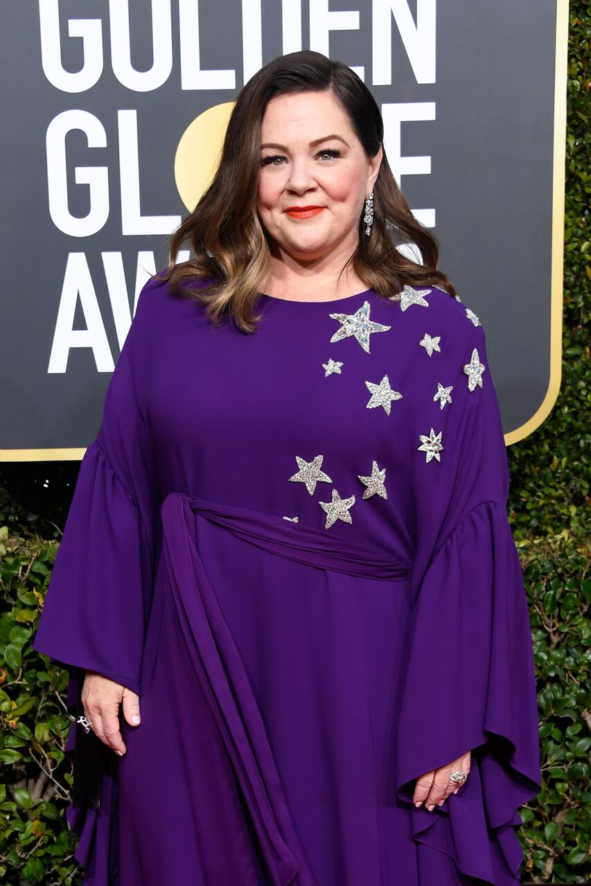 Melissa McCarthy attends the 76th Annual Golden Globe Awards. | Source: Getty Images