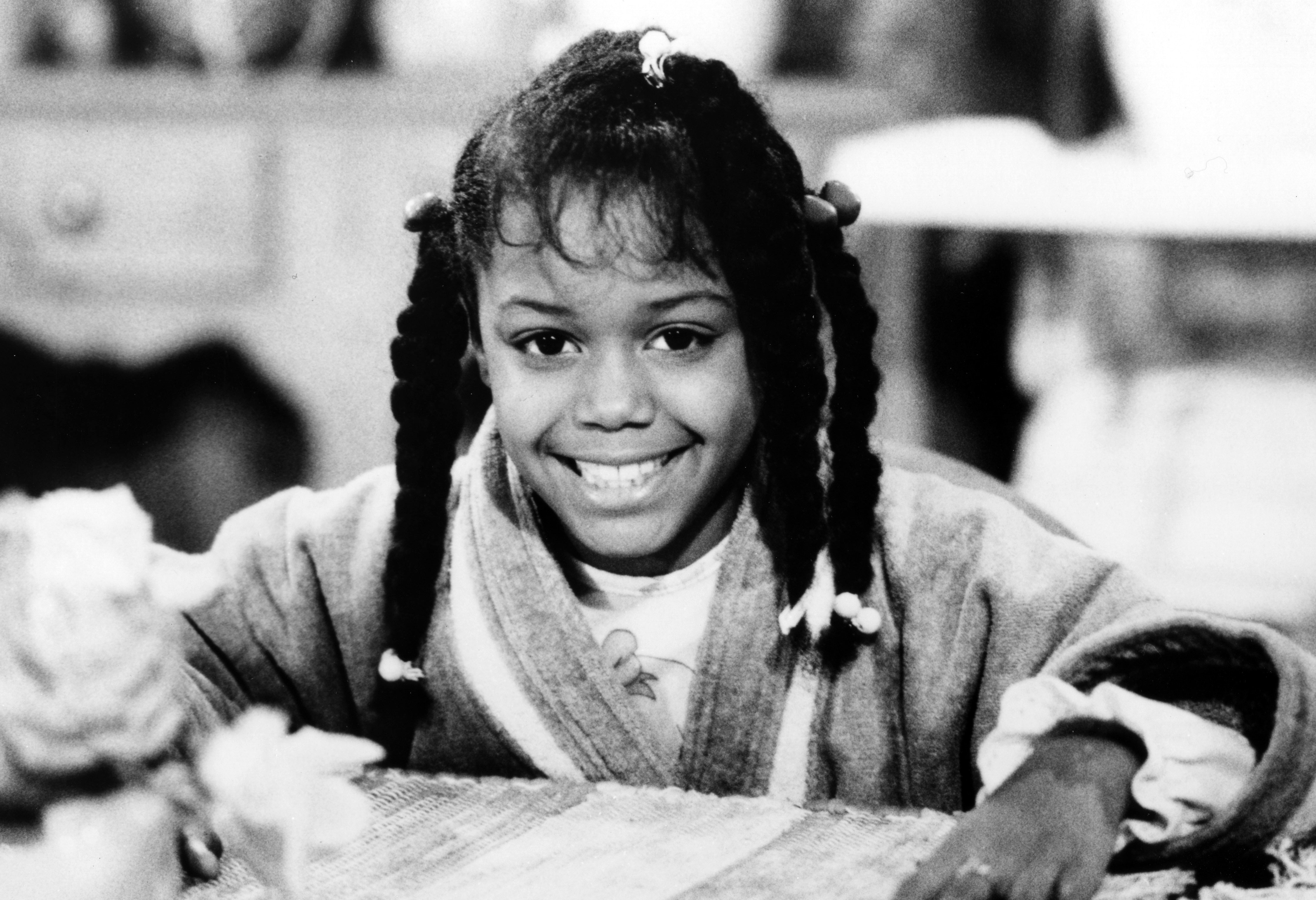 """Jaimee Foxworth pictured on an episode of """"Family Matters"""" which aired on November 17, 1989. 