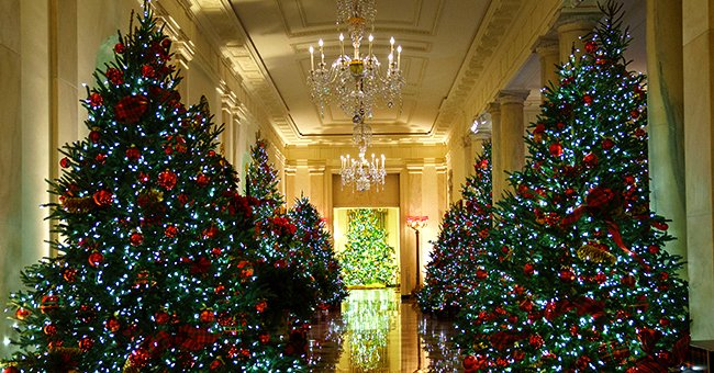 Glimpse inside the White House Christmas Decorations and Celebrations through the Years