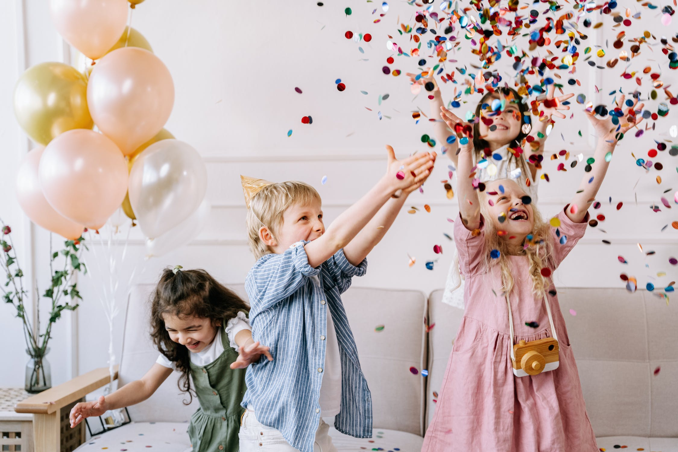 Children at a birthday party | Source: Pexels
