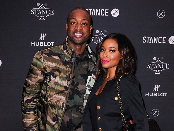 Dwyane Wade and Gabrielle Union at the Stance and Dwayne Wade's Spade Tournament in Toronto, Canada.| Photo: Getty Images.