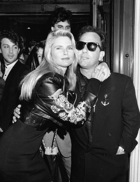 Christie Brinkley and Billy Joel at a nightclub in London on October 25, 1989 | Photo: Getty Images