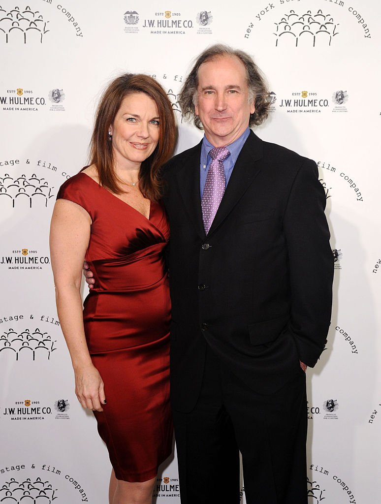 Christa Justus (L) and actor Mark Linn-Baker attend New York Stage and Film 2014 Winter Gala at The Plaza Hotel on November 16, 2014 | Photo: Getty Images