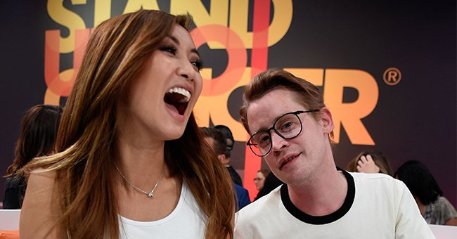 Brenda Song and Macaulay Culkin pictured at the sixth biennial Stand Up To Cancer (SU2C) telecast at the Barkar Hangar, 2018. | Photo: Getty Images