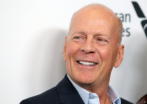 "Bruce Willis at the ""Motherless Brooklyn"" premiere during the 57th New York Film Festival in New York City.
