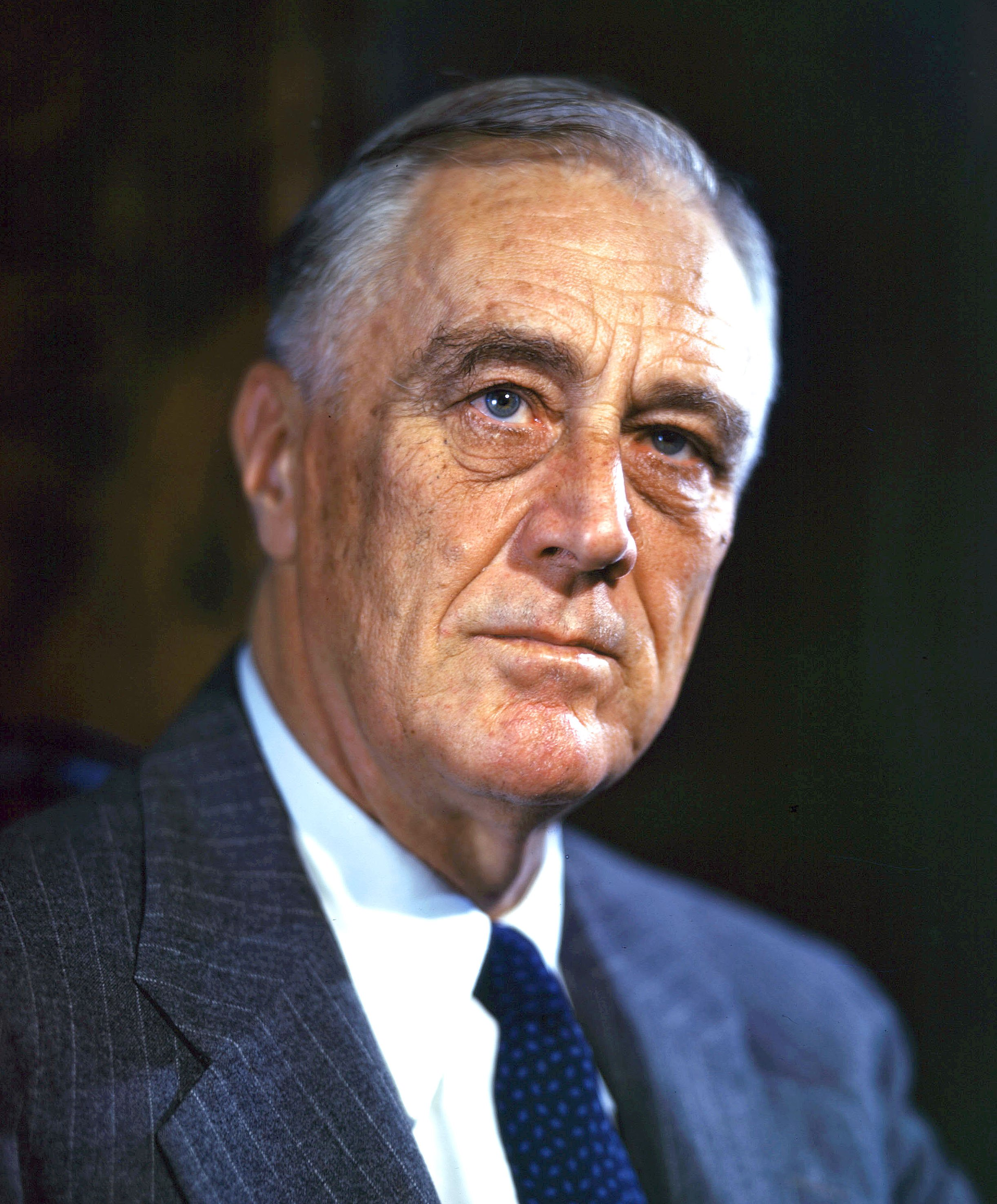 A colored portrait of Franklin Delano Roosevelt | Photo: WikiJunkie, CC BY 2.0,Wikimedia Commons