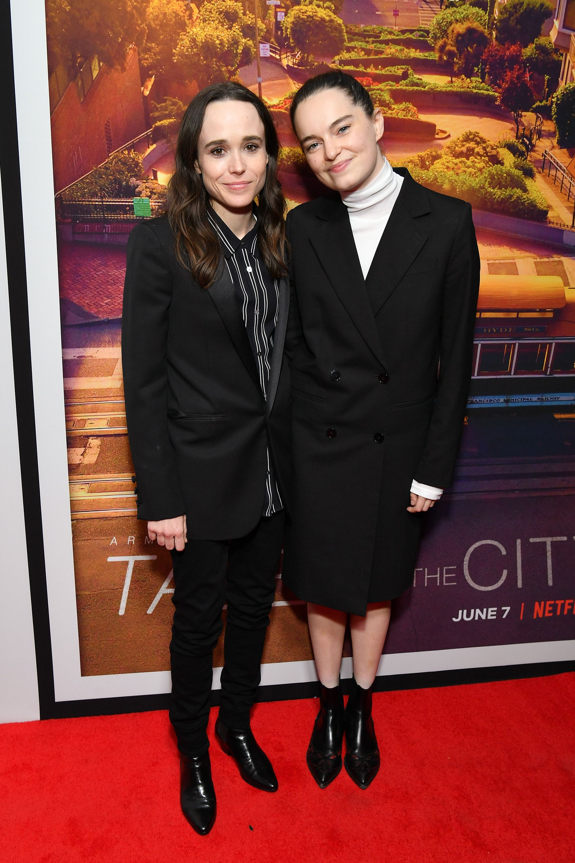 """Elliot Page and Emma Portner at the """"Tales of the City"""" New York premiere at The Metrograph on June 03, 2019   Photo: Getty Images"""
