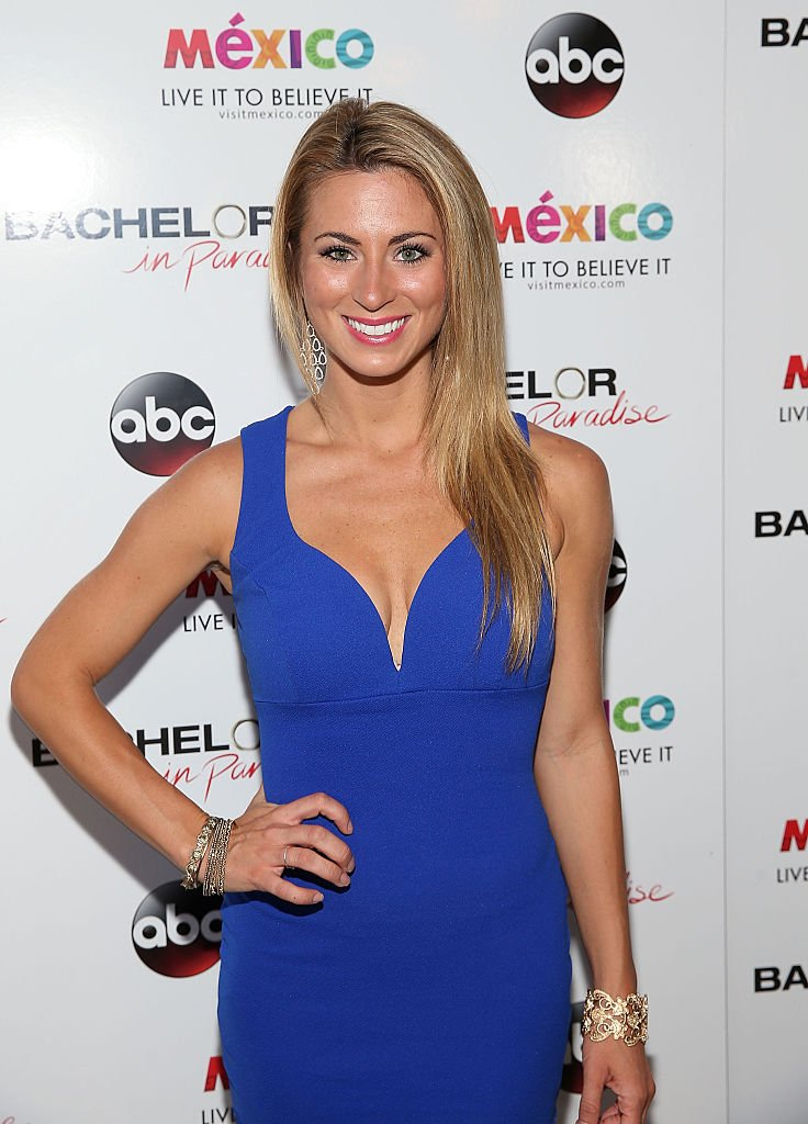 "Tenley Molzahn at the ""Bachelor In Paradise"" Returns To Mexico For Season 2 Premiere Party at Mixology101 on August 2, 2015 