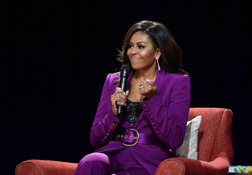 Former First Lady Michelle Obama attends 'Becoming: An Intimate Conversation with Michelle Obama' at State Farm Arena | Photo: Getty Images