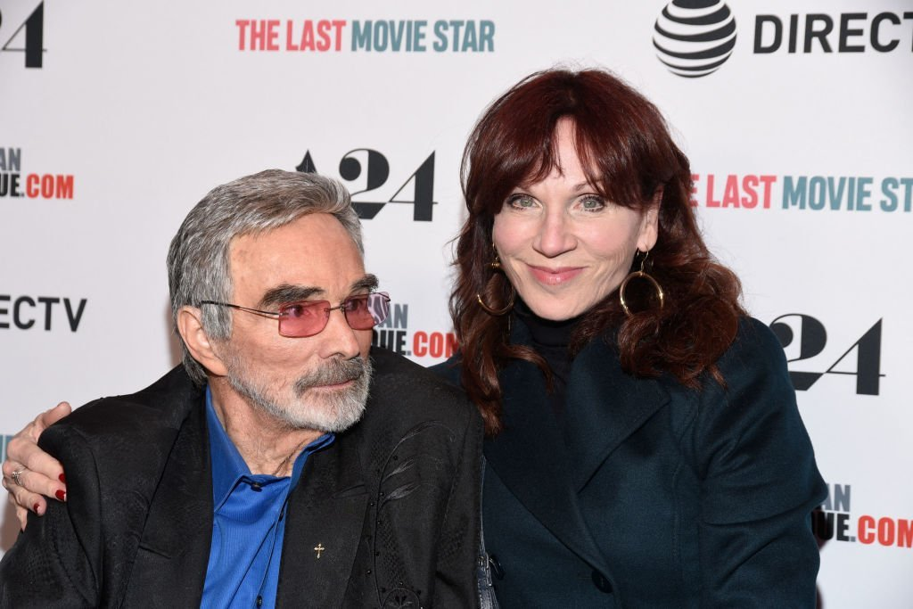 "Burt Reynolds and Marilu Henner attend the Los Angeles premiere of ""The Last Movie Star""  