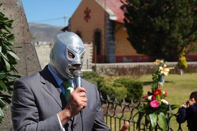 Hijo de El Santo, luchador mexicano | Foto: Wikipedia