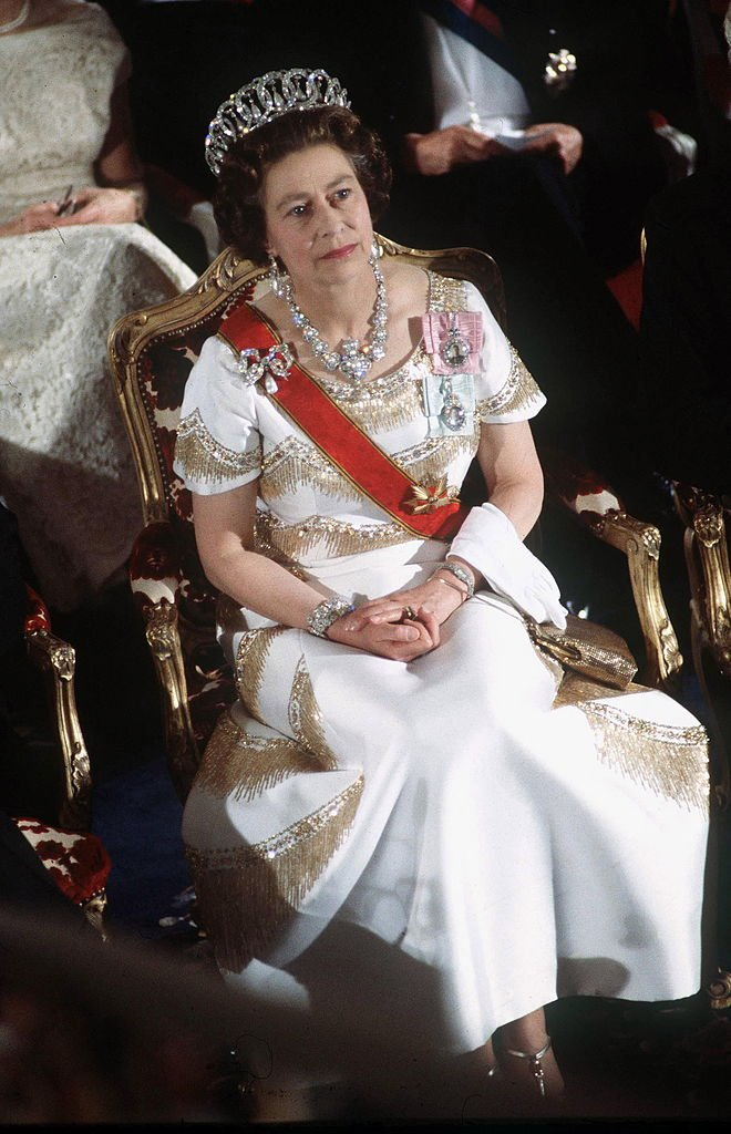 Queen Elizabeth II During An Official Overseas Tour Of Germany, May 1978   Source: Getty Images
