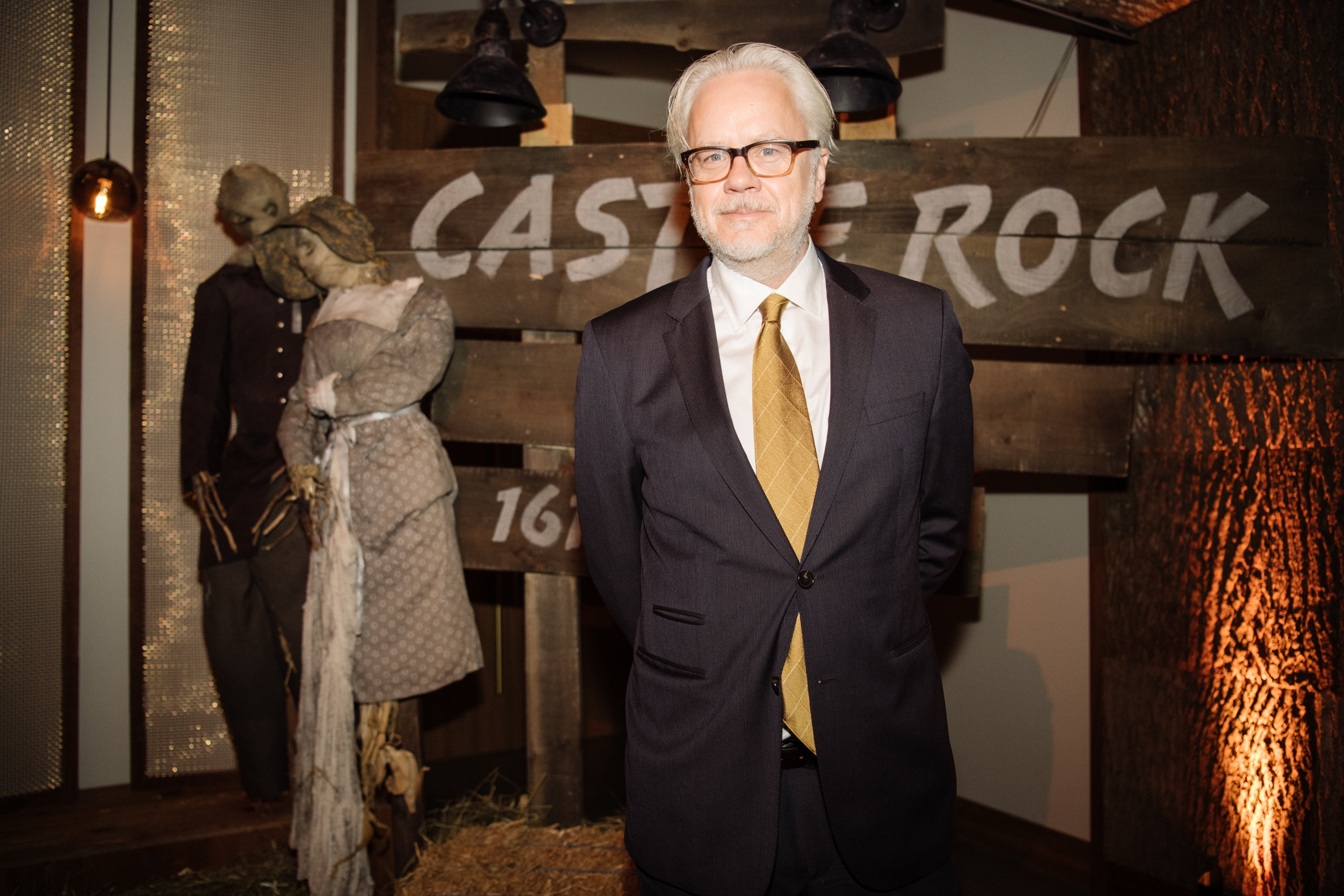 """Tim Robbins at the premiere of """"Castle Rock"""" in Los Angeles, October, 2019.   Photo: Getty Images."""