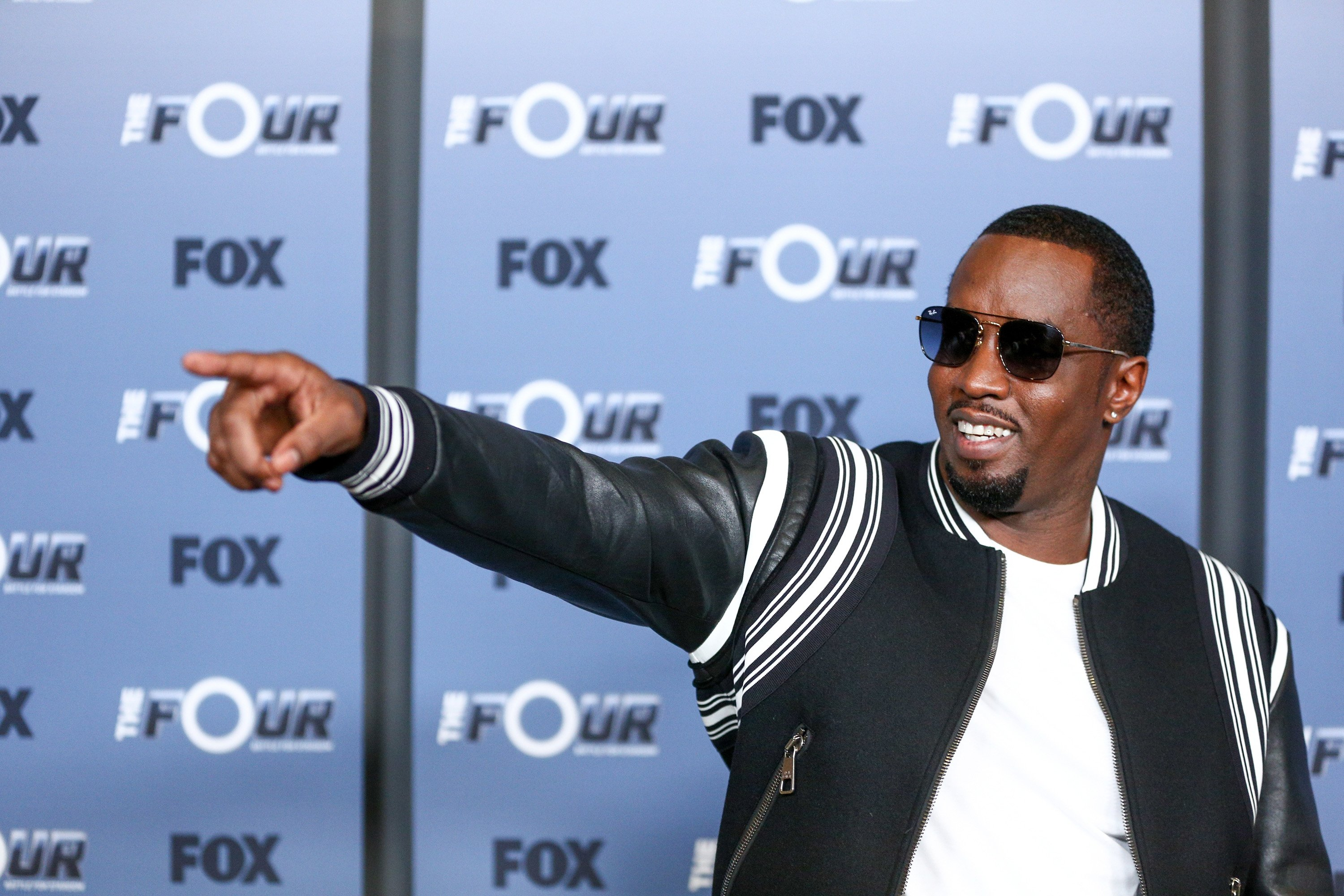 """Sean Combs at the premiere of """"The Four: Battle For Stardom"""" Season 2 at CBS Studios - Radford on May 30, 2018 in Studio City, California. 