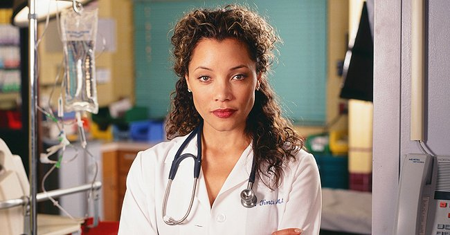 "Michael Michele as Doctor Cleo Finch on Season 7 of ""ER"" 