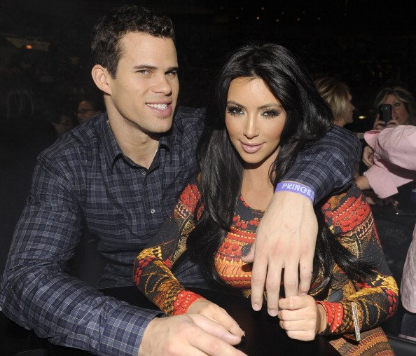 Kris Humphries and Kim Kardashian at the 'Welcome 2 America' tour in New York City. | Photo: Getty Images.