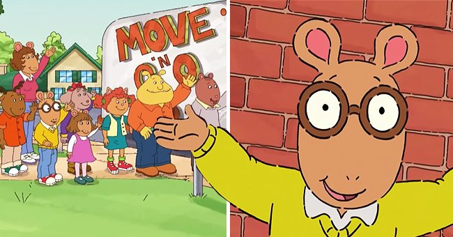 """Characters from the animated children's series, """"Arthur."""" 