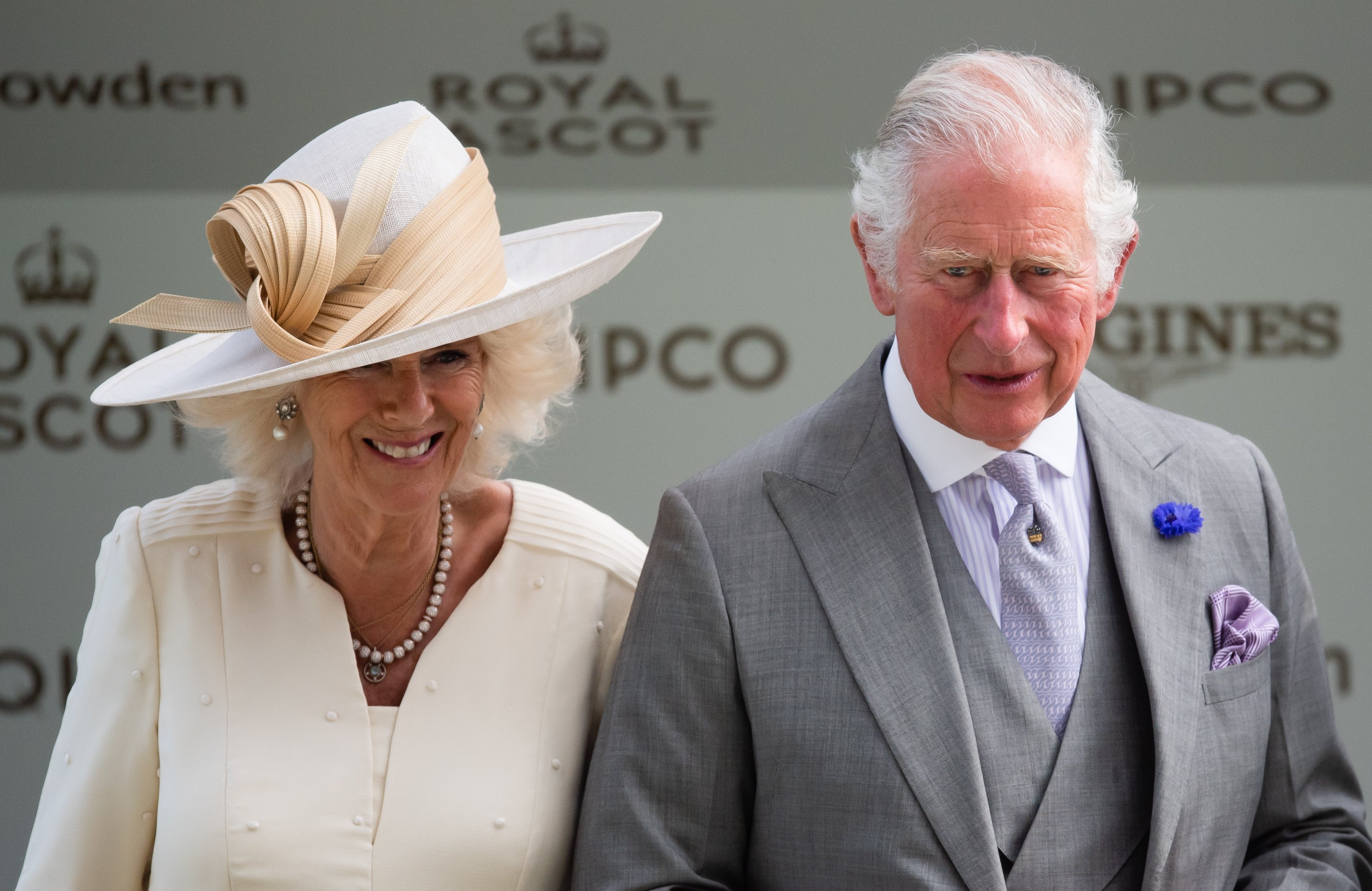 Camilla, Duchess of Cornwall and Prince Charles, Prince of Wales attend Royal Ascot 2021 at Ascot Racecourse on June 16, 2021 in Ascot, England.   Source: Getty Images