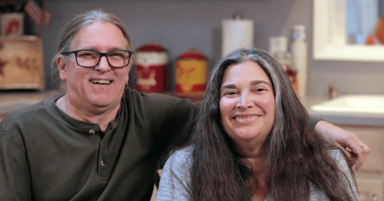 "Charles and his wife Michele during their interview in the ""Rachael Ray Show."" 