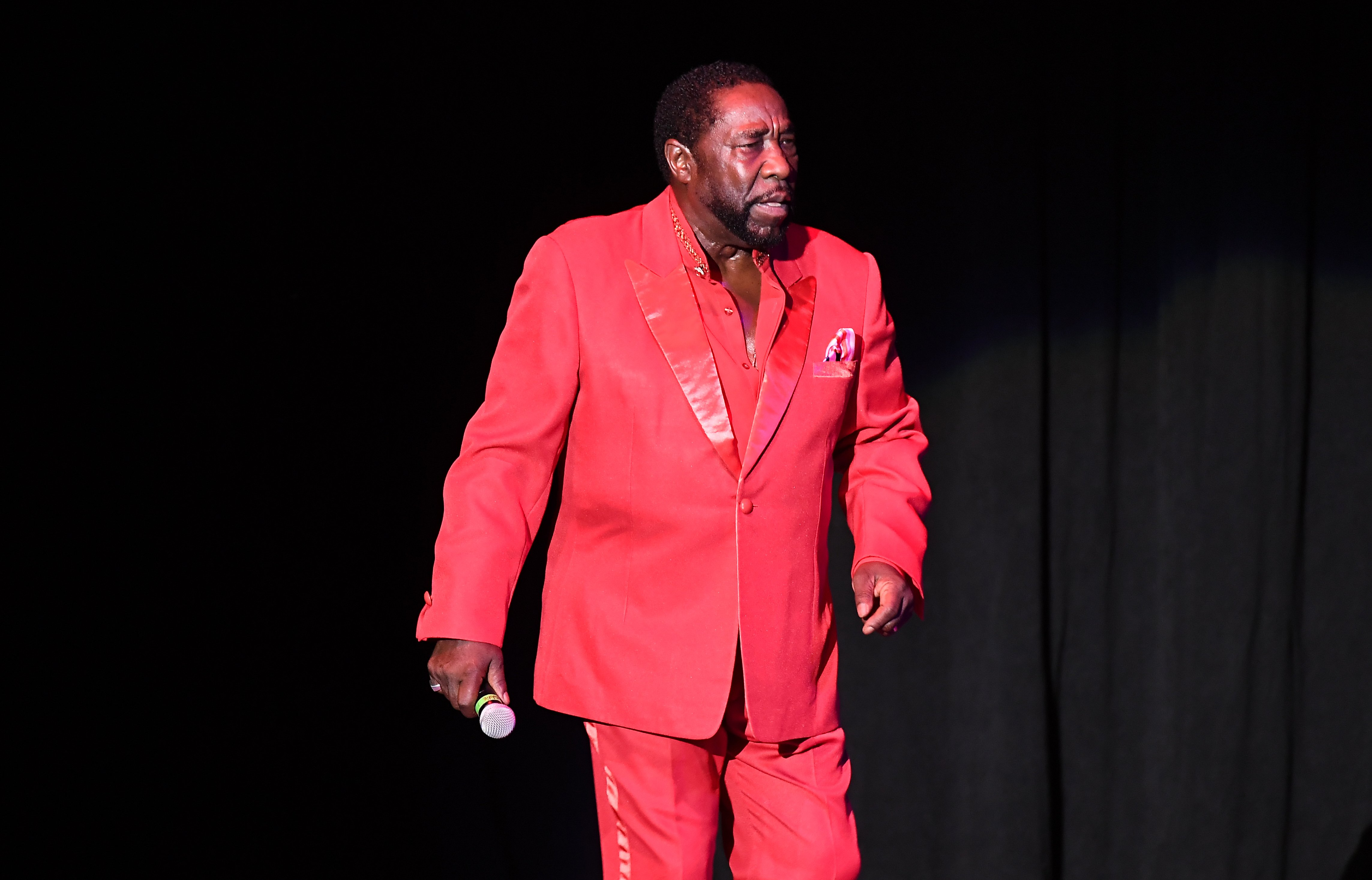 Eddie Levert of The O'Jays performs in concert at State Bank Amphitheatre at Chastain Park on August 10, 2018 in Atlanta, Georgia. | Photo: GettyImages