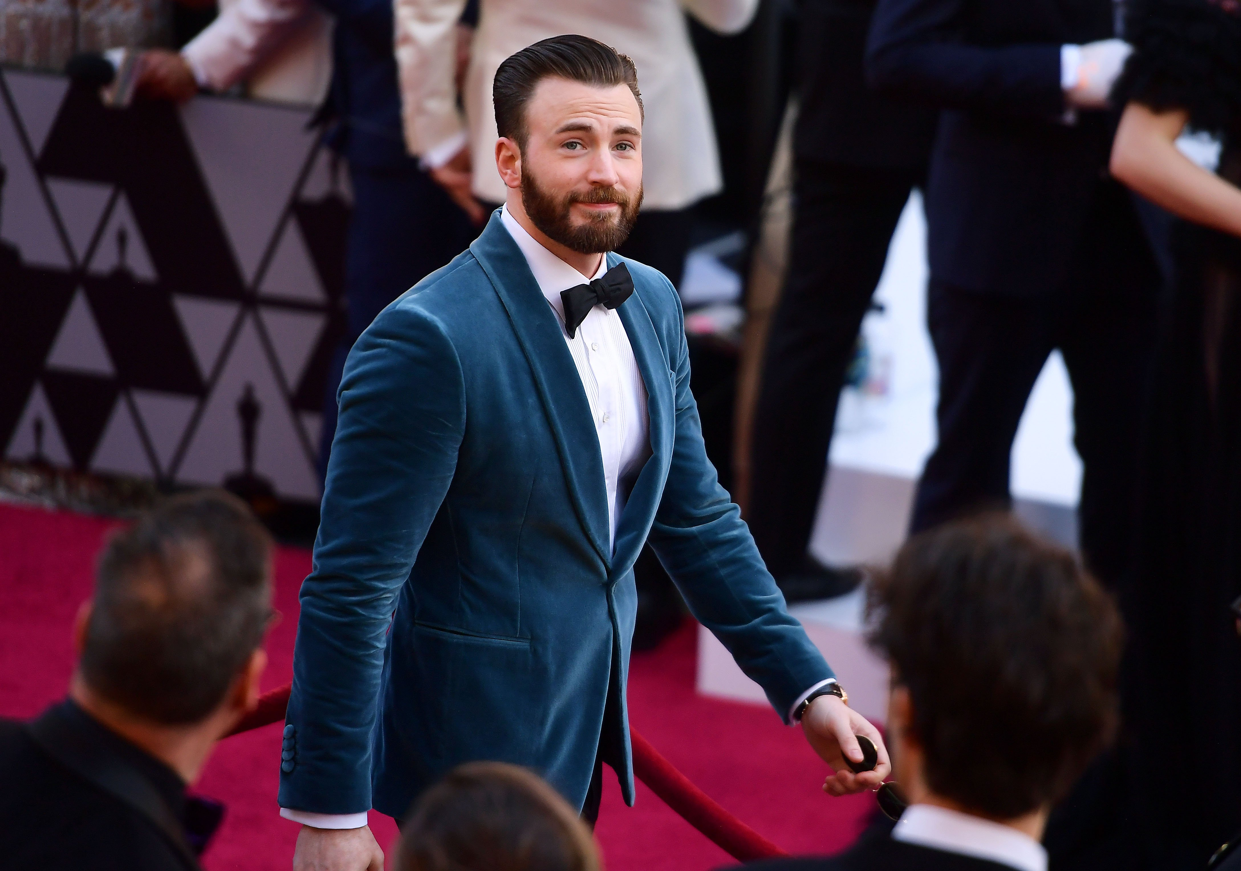 Chris Evans attends the 91st Annual Academy Awards at Hollywood and Highland on February 24, 2019 | Photo: Getty images