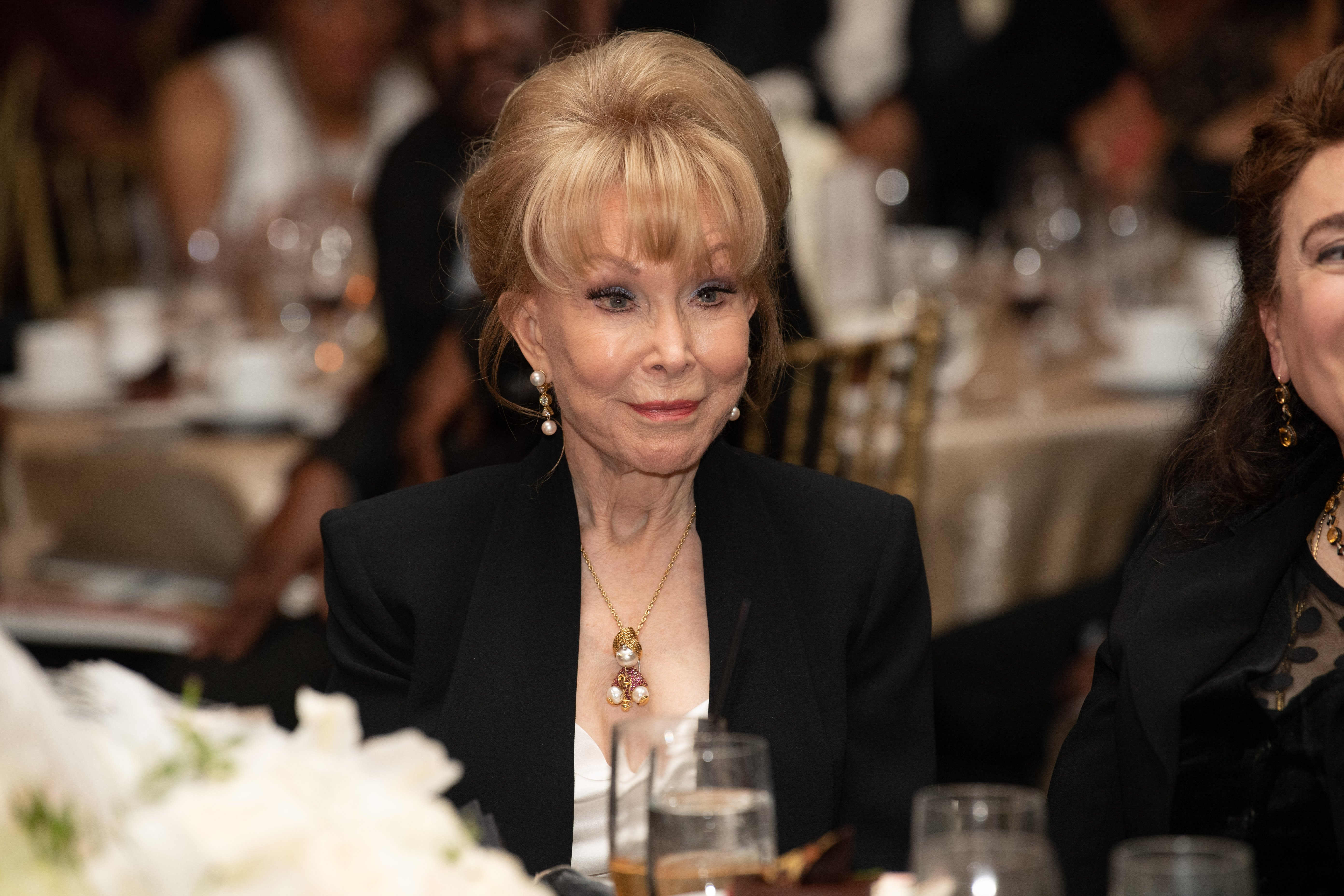 Barbara Eden attends the YWCA Greater Los Angeles 125th Anniversary Gala in Hollywood, California on November 1, 2018   Photo: Getty images
