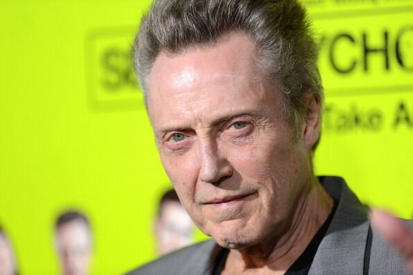"""Christopher Walken arrives at the premiere of CBS Films' """"Seven Psychopaths"""" at Mann Bruin Theatre 