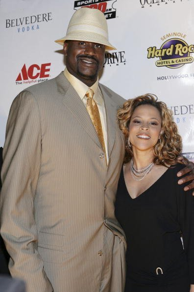 Shaquille O'Neal and Shaunie at Hard Rock Live on March 24, 2007 in Hollywood, Florida. | Photo: Getty Images