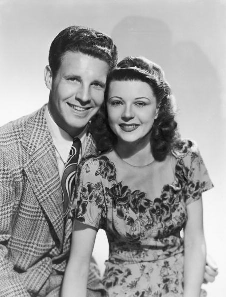 Promotional studio portrait of married American actors Ozzie Nelson | Photo: Getty Images