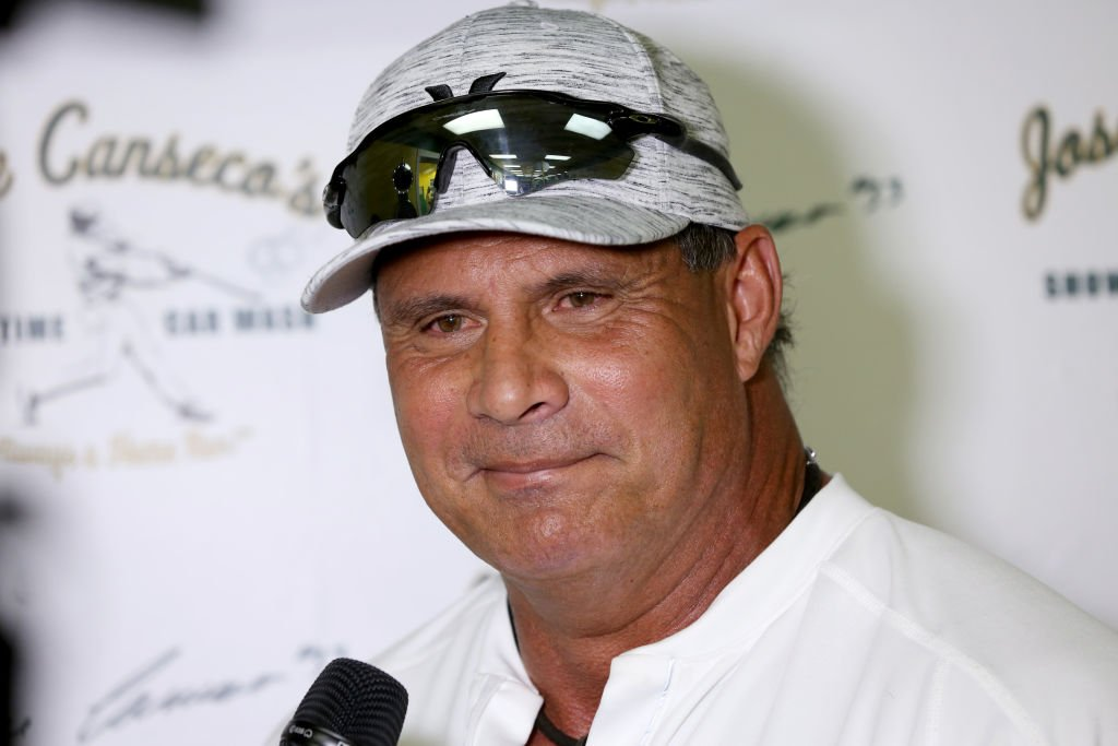 Jose Canseco at the grand opening of Jose Canseco's Showtime Car Wash on October 26, 2019 | Photo: Getty Images