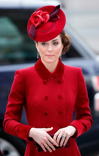 Kate Middleton at Westminster Abbey on March 9, 2020 in London, England. | Photo: Getty Images