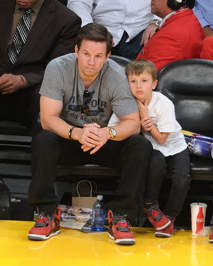 Mark Wahlberg and son I Image: Getty Images