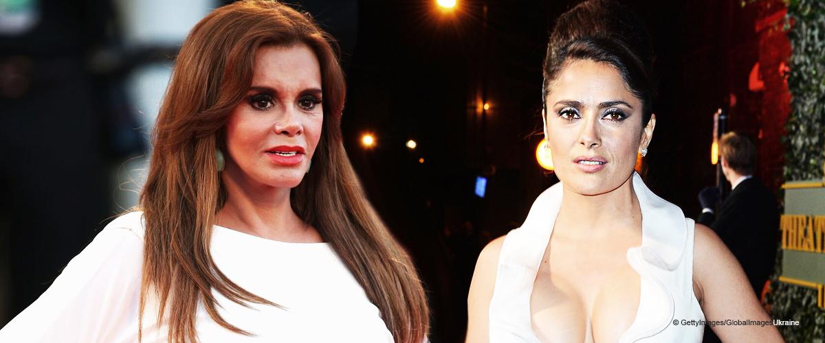 Lucía Méndez asegura que ella y Salma Hayek se parecen