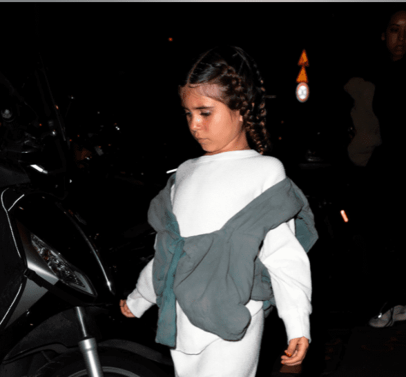 Penelope Disick spotted leaving a restaurant on March 02, 2020 in Paris, France | Photo: Getty Images