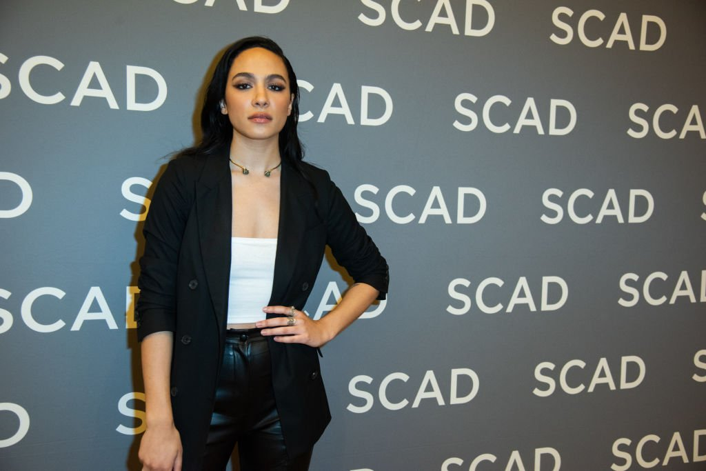"Aurora Perrineau attends SCAD aTVfest 2020 - ""Prodigal Son"" With Tom Payne Discovery Award, Actor Presentation on February 29, 2020 