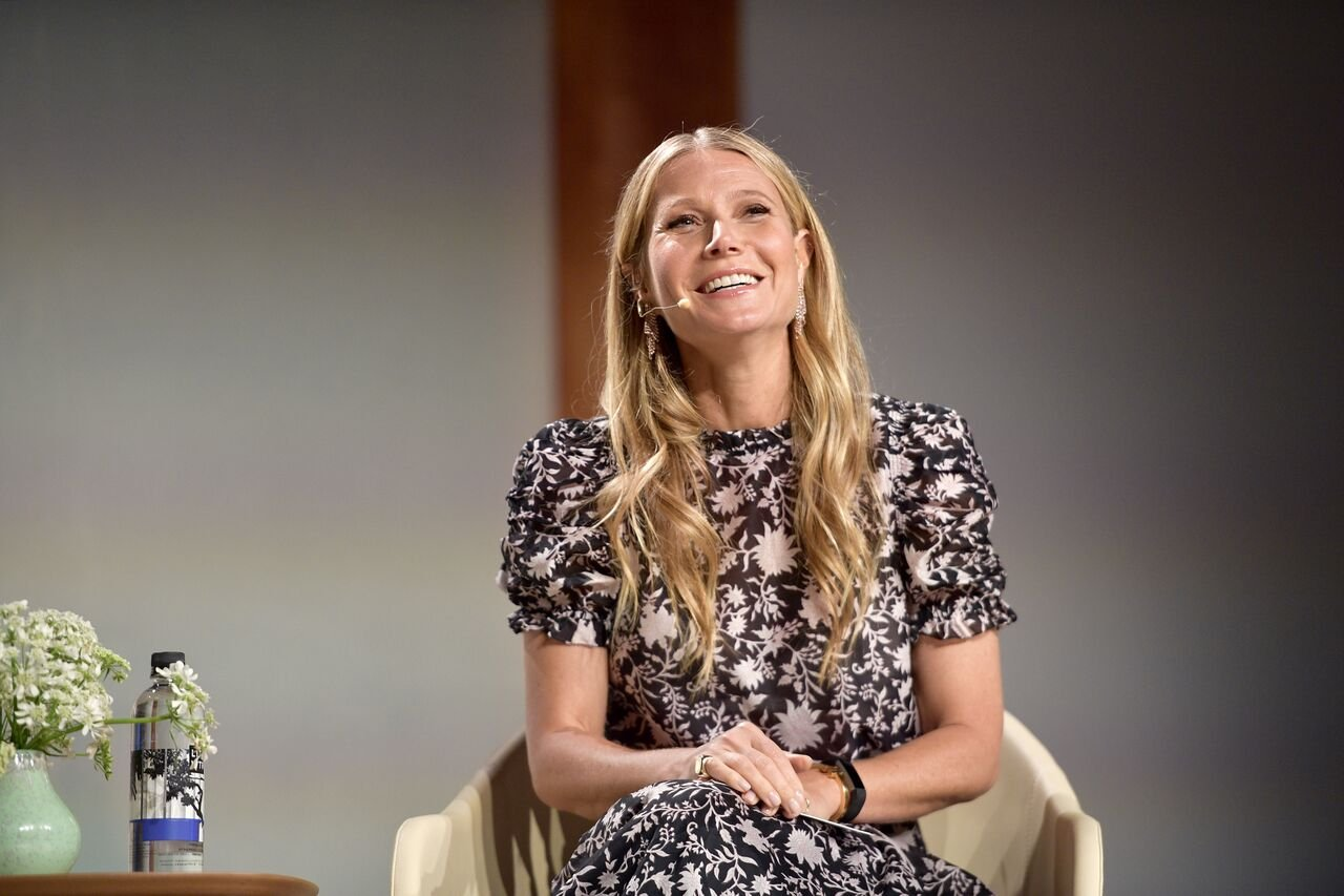 Gwyneth Paltrow speaks onstage at the In goop Health Summit at 3Labs. | Source: Getty Images