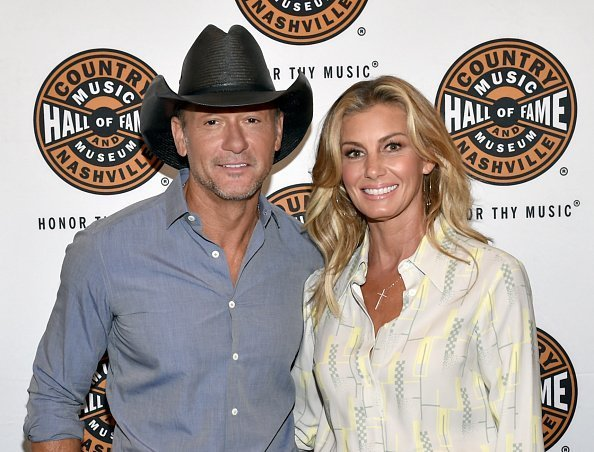 Tim McGraw and Faith Hill at The Country Music Hall Of Fame And Museum's CMA Theater on May 3, 2018 | Photo: Getty Images