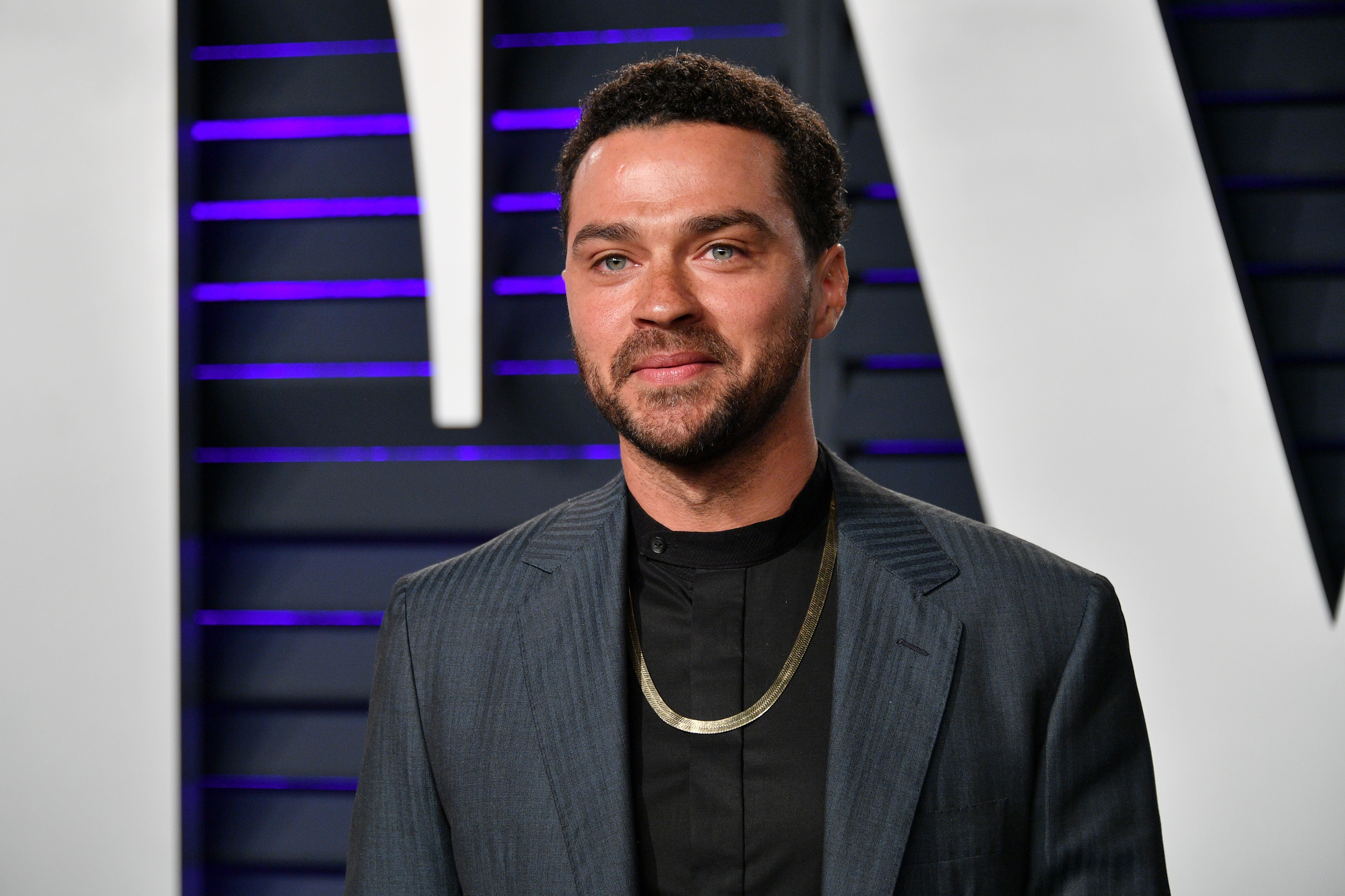 Jesse Williams at the Vanity Fair Oscar Party at Wallis Annenberg Center for the Performing Arts on February 24, 2019, in Beverly Hills, California | Photo: Dia Dipasupil/Getty Images