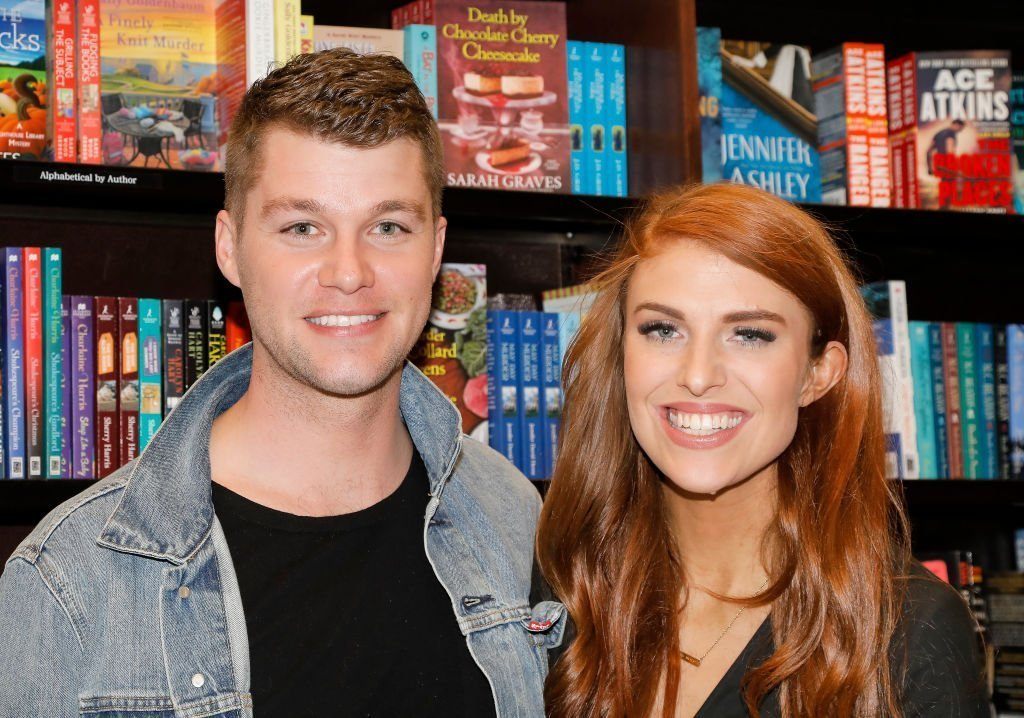 Jeremy Roloff and Audrey Roloff celebrate their new book 'A Love Letter Life' at Barnes & Noble at The Grove | Photo: Getty Images