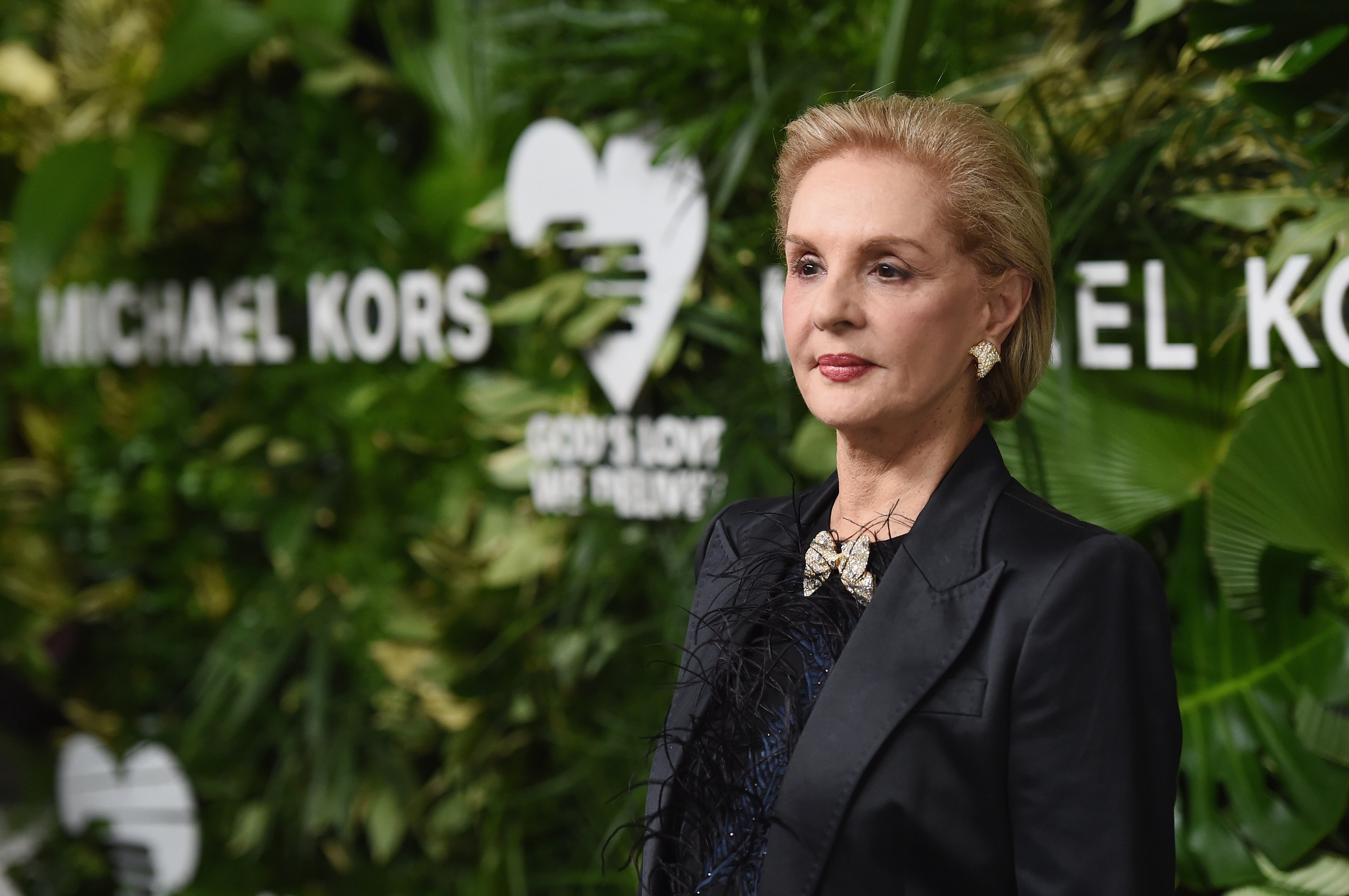 Carolina Herrera en los 11° Golden Heart Awards en beneficio a God's Love We Deliver, en octubre de 2017 en la ciudad de Nueva York || Foto: Getty Images
