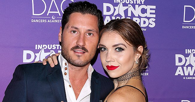 Val Chmerkovskiy & Jenna Johnson of DWTS Celebrate First Wedding Anniversary Eating Cake in Bed