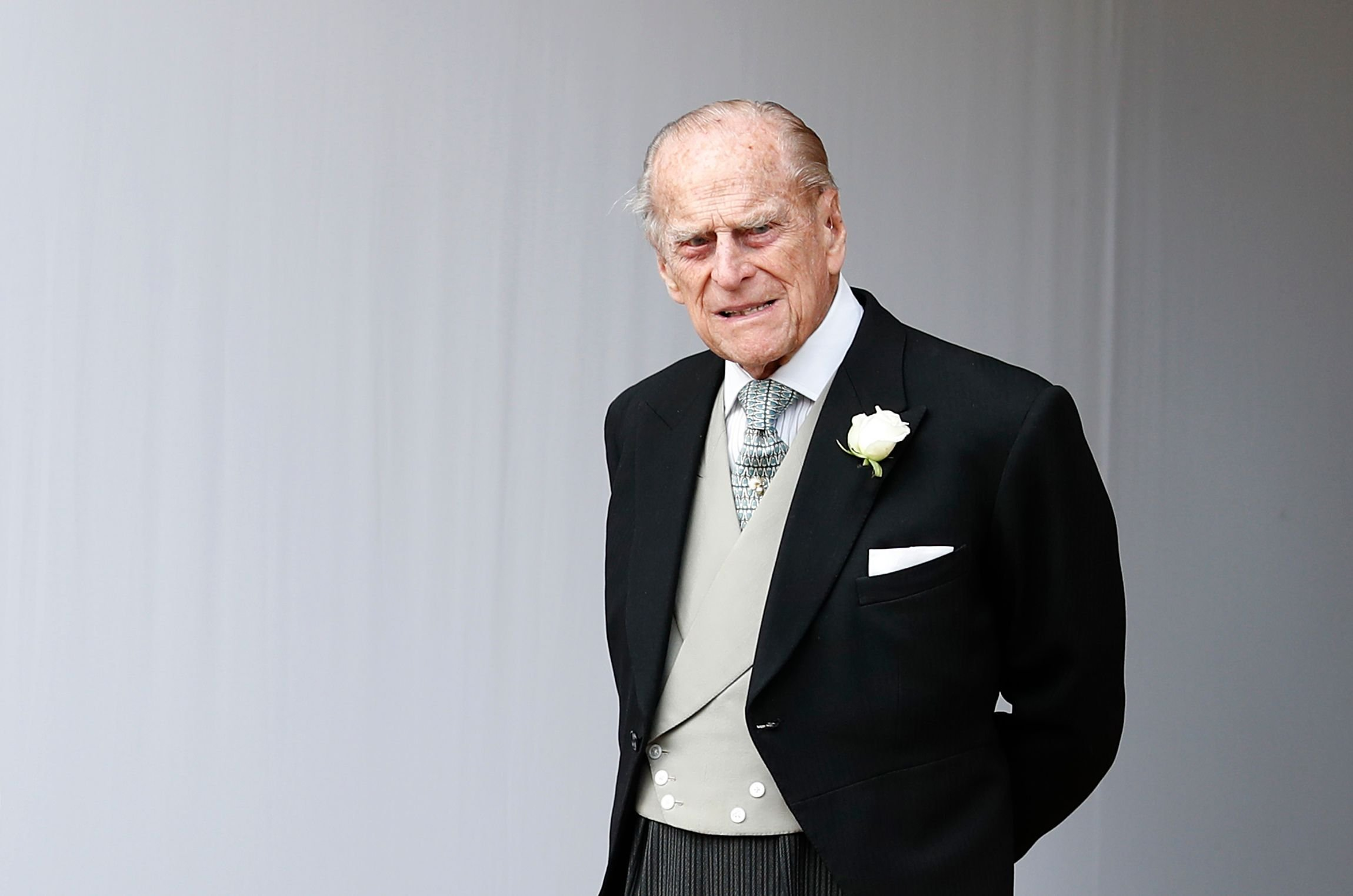 Prince Philip at the wedding of Princess Eugenie to Jack Brooksbank at St. George's Chapel on October 12, 2018. | Getty Images